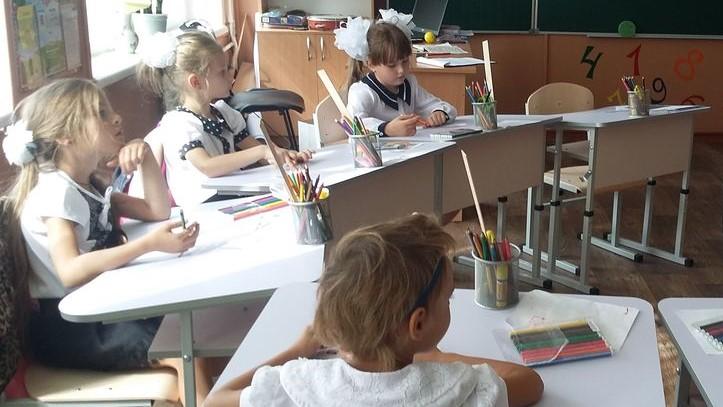 Учасники семінару побачили, як викладають уроки у першому та другому класах