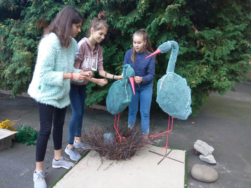 Учасники створювали квіткові композиції — квіткові килими чи флористичні скульптури