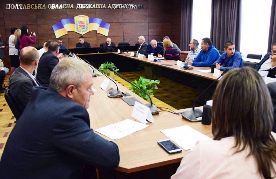 Ще 16 ОТГ Полтавщини отримали у власність землі