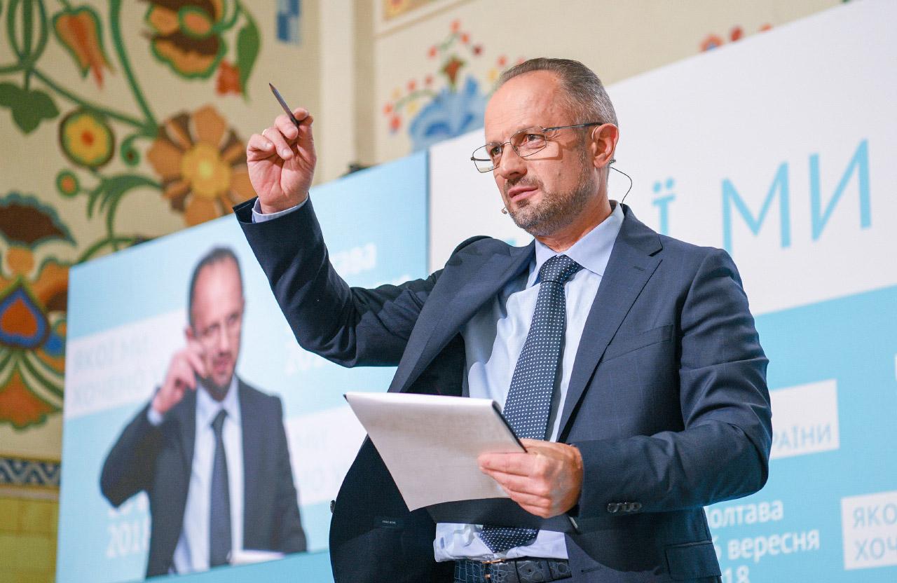 Роман Безсмертний — претендент на посаду Президента України