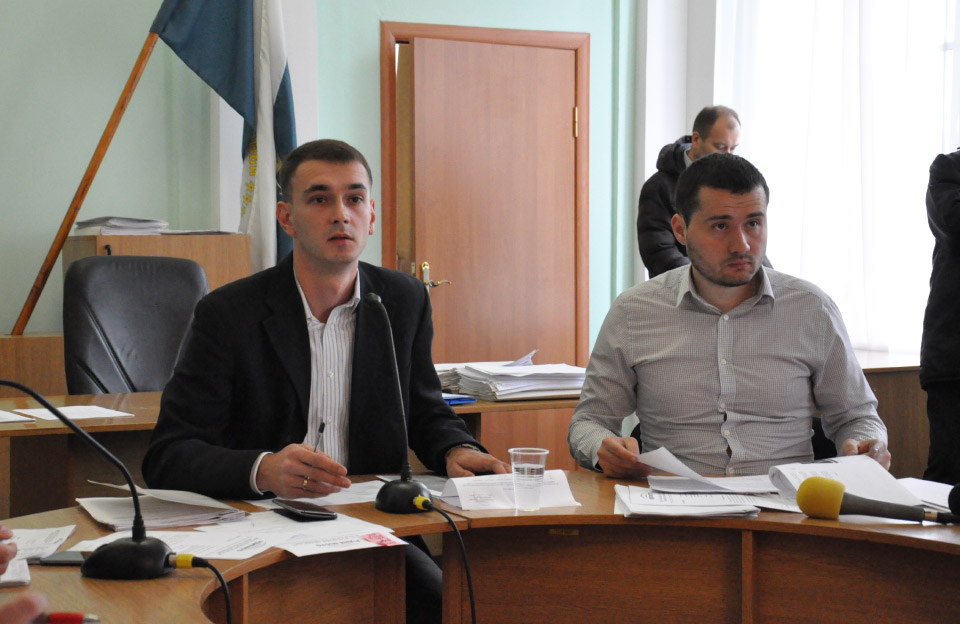 Дмитро Сенчакович та Вадим Ямщиков