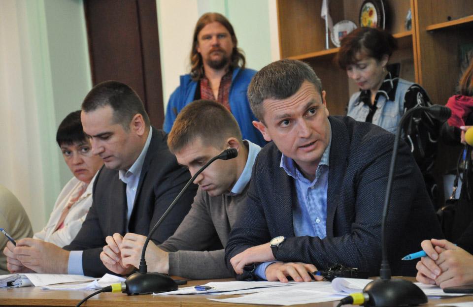 Микола Шевельов, Сергій Сінельнік та Олексій Чепурко