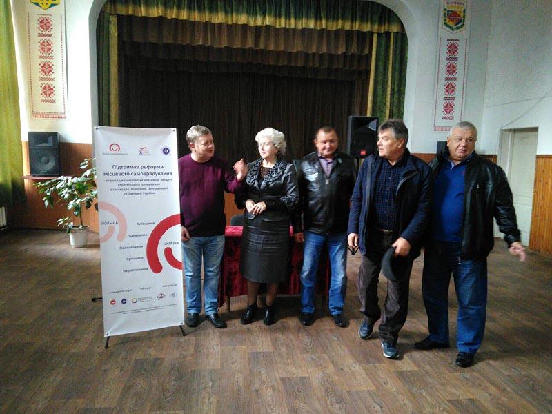 Голови сільських рад з Віктором Бобиренко