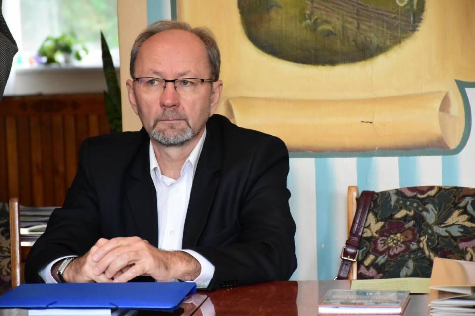 Заступник директора Департаменту екології та природних ресурсів Полтавської облдержадміністрації Олександр Ткаченко