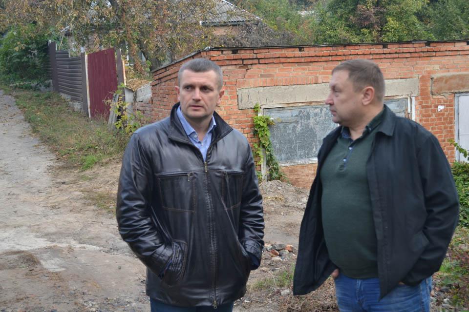 Олексій Чепурко (зліва)