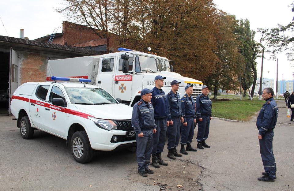 Полтавські рятувальники поїдуть на Чернігівщину