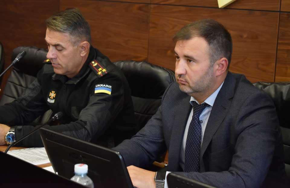 Володимир Салогуб та Роман Товстий