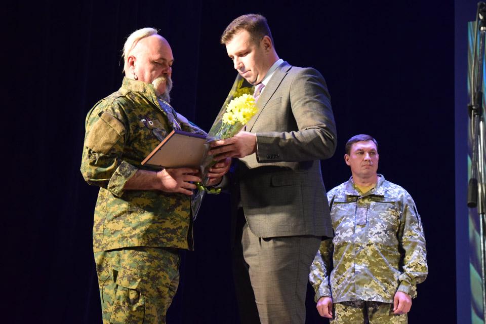 Нагородження військового
