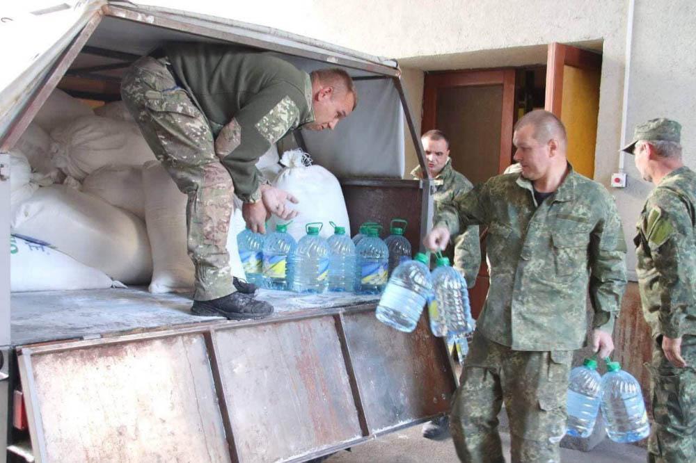 Гуманітарка для військових