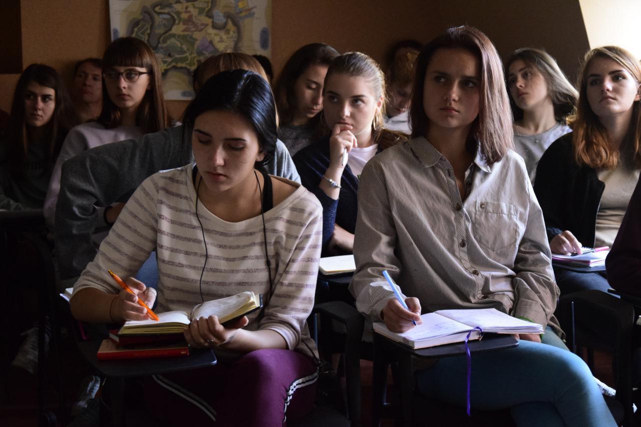 Частина студентів УАЛ-Полтава
