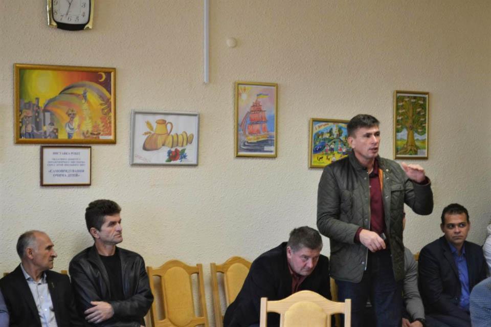 Голова Заворсклянської ОТГ В'ячеслав Салогор