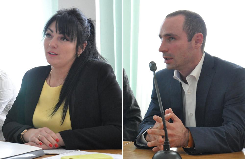 Тетяна Юрченко та Іван Сватенко