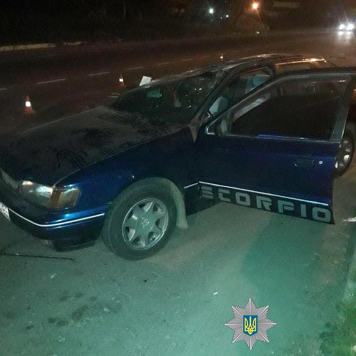 Ford Scorpio після ДТП