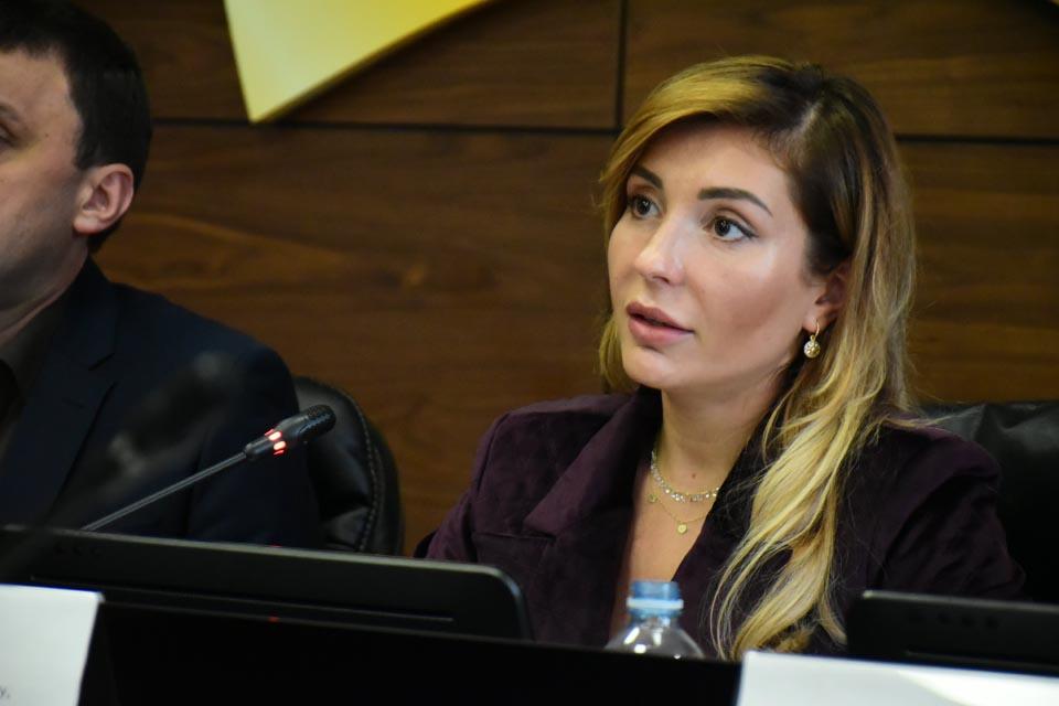 Директор департаменту економічного розвитку Полтавської ОДА Інна Іщенко