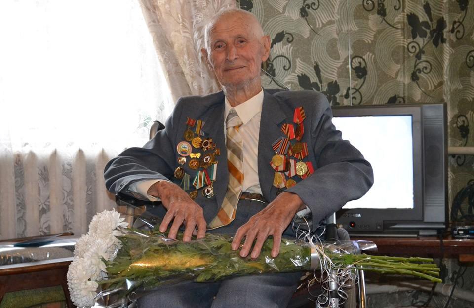 Ветеран Полтававодоканалу Дмитро Порфирович Пиляй відзначив 100-річчя