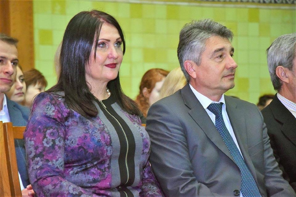 Олена Харченко та Олег Пругло