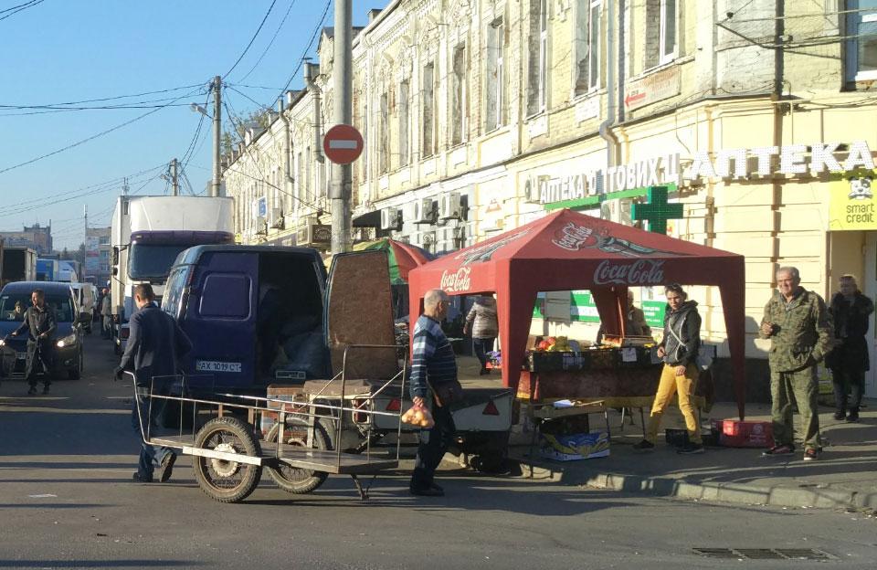 Сутичка сталася через торгове місце на розі вулиць Шевченка та Новий базар