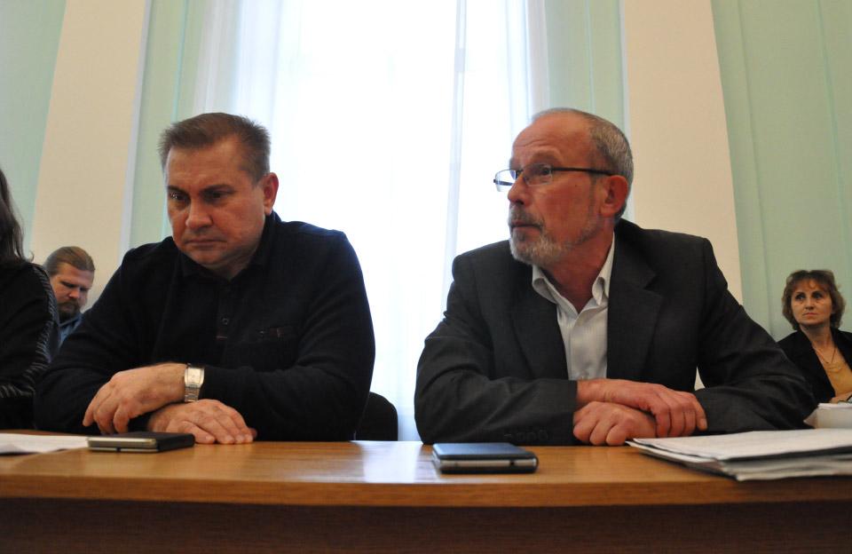Сергій Синягівський та Юрій Трегубов