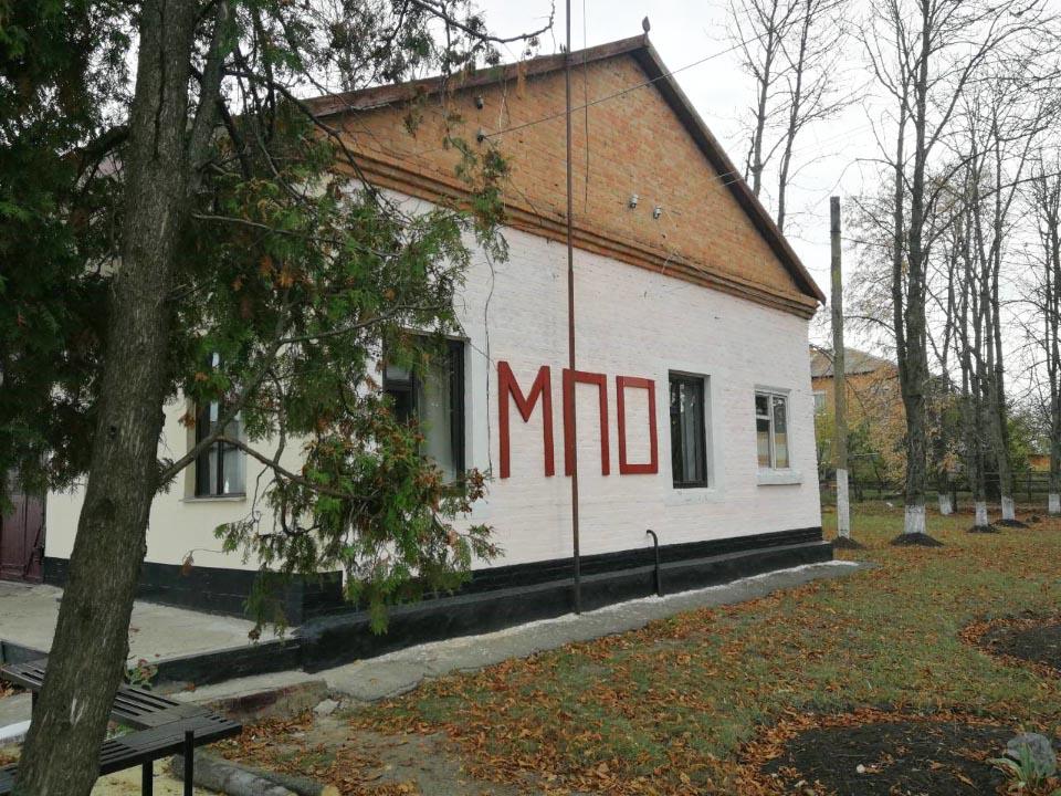 Будівля місцевої пожежної охорони, с. Божківське