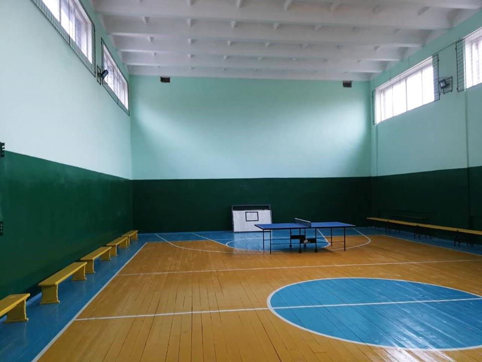 Капітально відремонтована будівля спортивної зали, с. Божківське