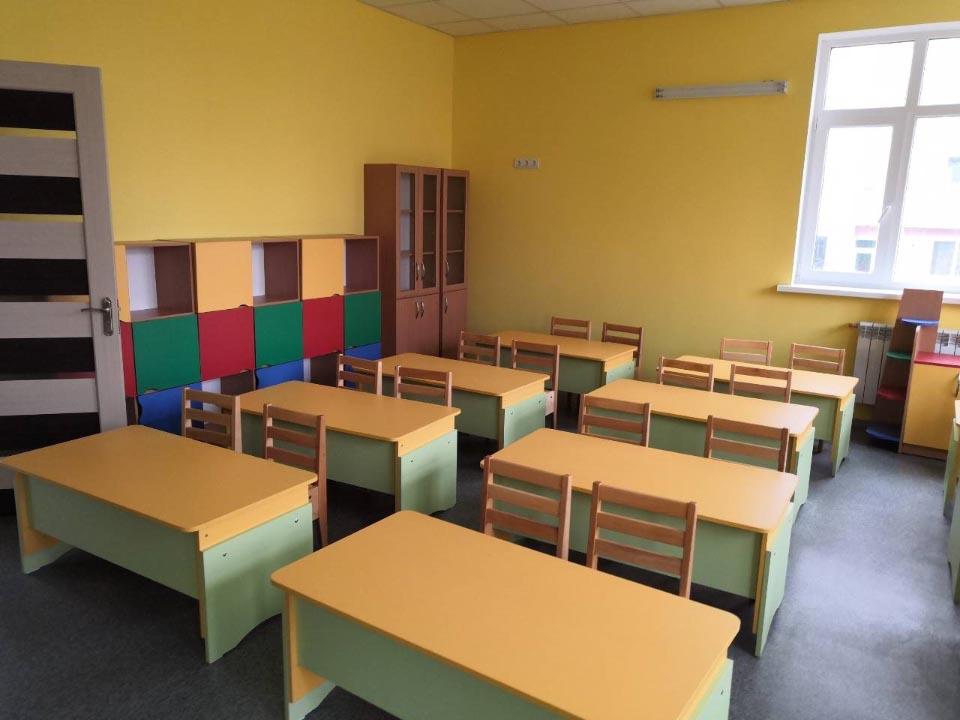 Дошкільний заклад розрахований на 140 місць