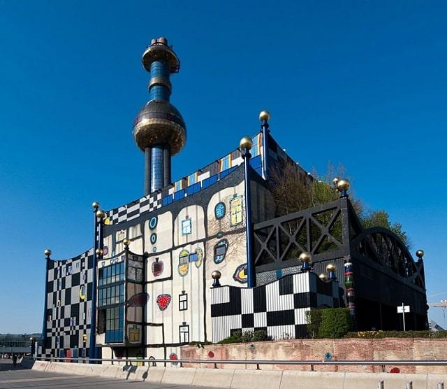 Сміттєспалювальний завод у Відні