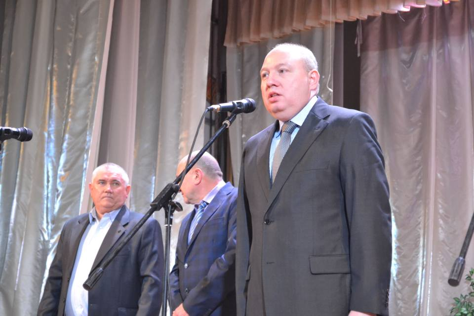 Голова Полтавської РДА Ігор Карімов