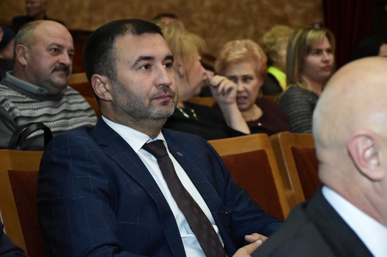 Заступник Полтавської ОДА Роман Товстий