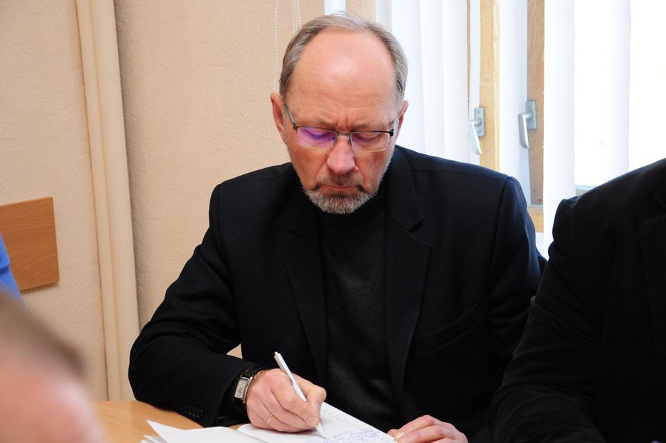 Виконуючий обов'язки директора Департаменту екології та природних ресурсів Полтавської ОДА Олександр Ткаченко