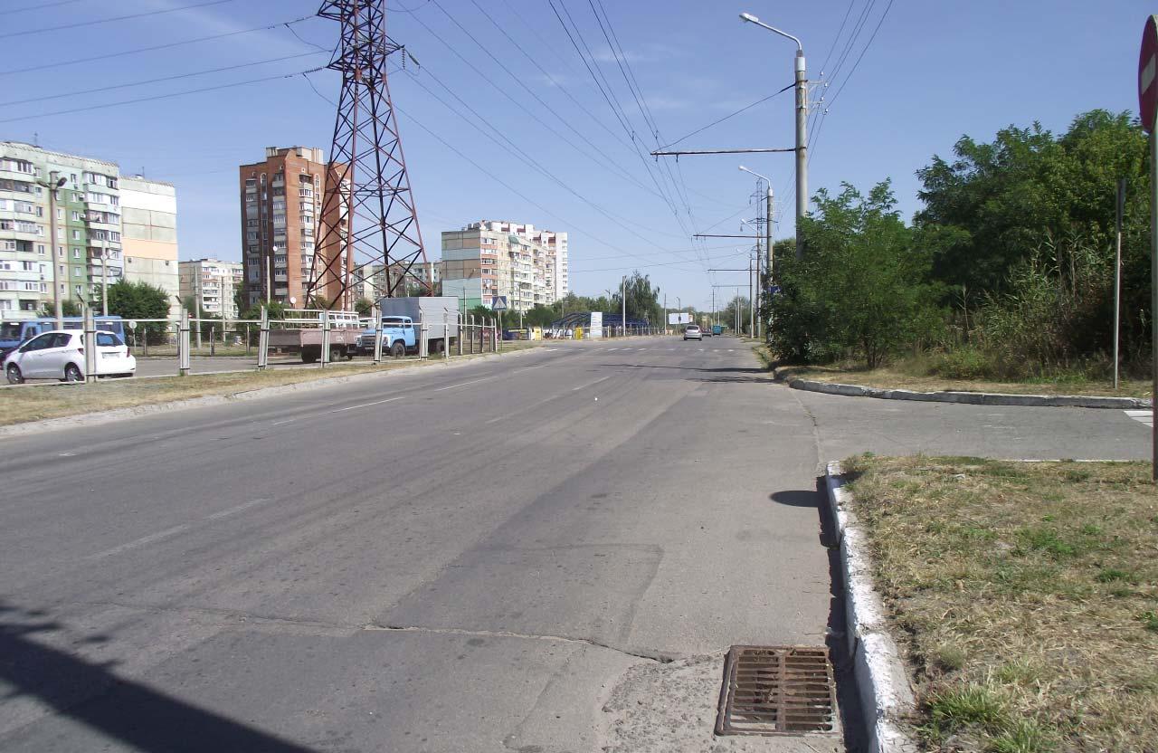 Проспект Миколи Вавилова у Полтаві