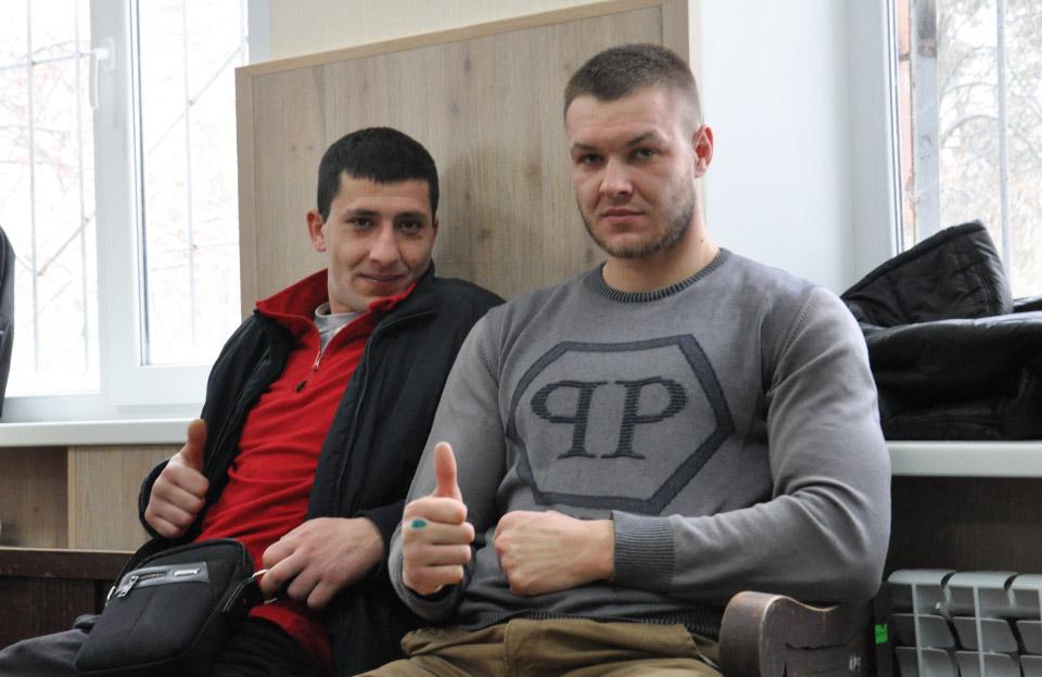 Мустафа Алоєв та Антон Пазенко