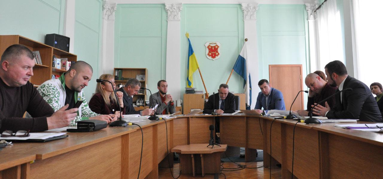 Засідання депутатської комісії Полтавської міськради з питань розвитку культури, освіти та спорту