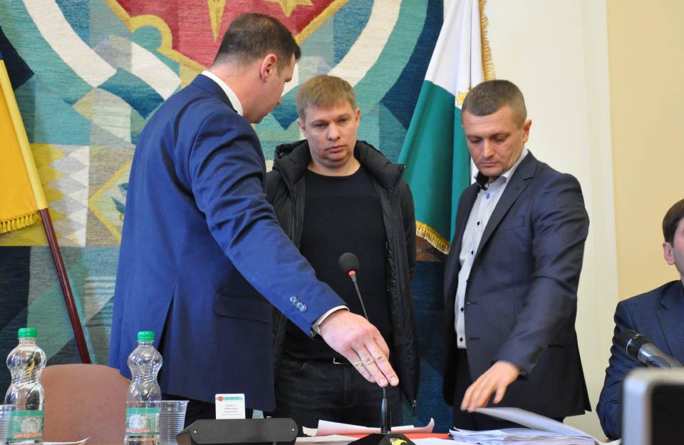 Олександр Шамота, Євген Дикань та Олексій Чепурко