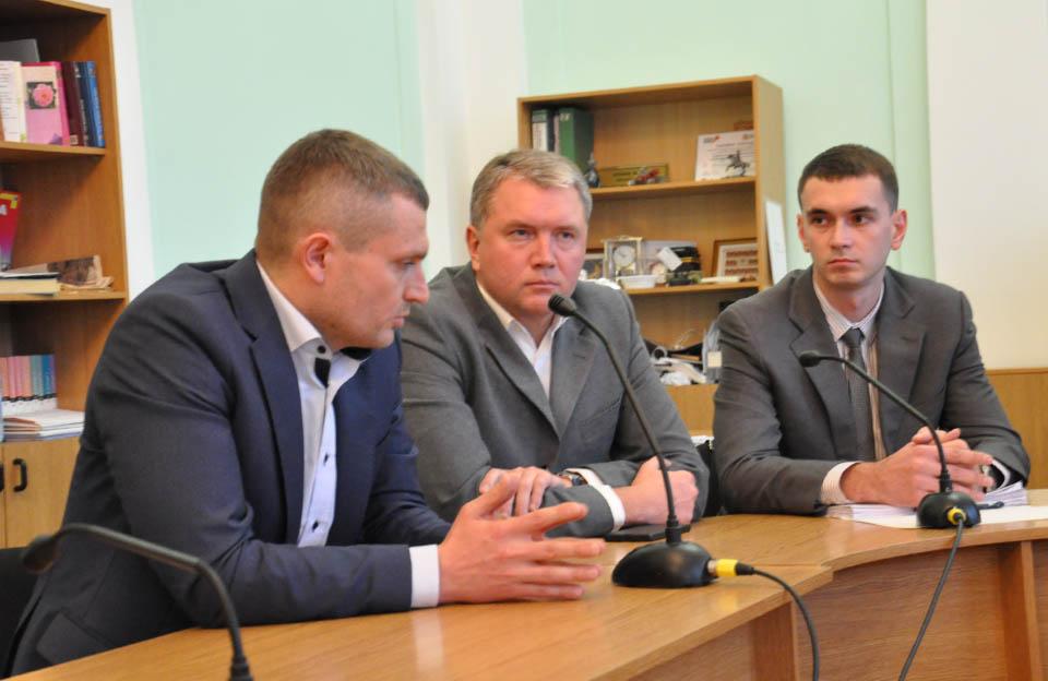 Олексій Чепурко, Олег Бєлоножко та Дмитро Сенчакович