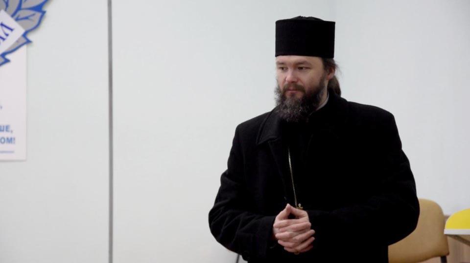 Архієпископ Полтавський і Кременчуцький Федір вітає водоканалівців