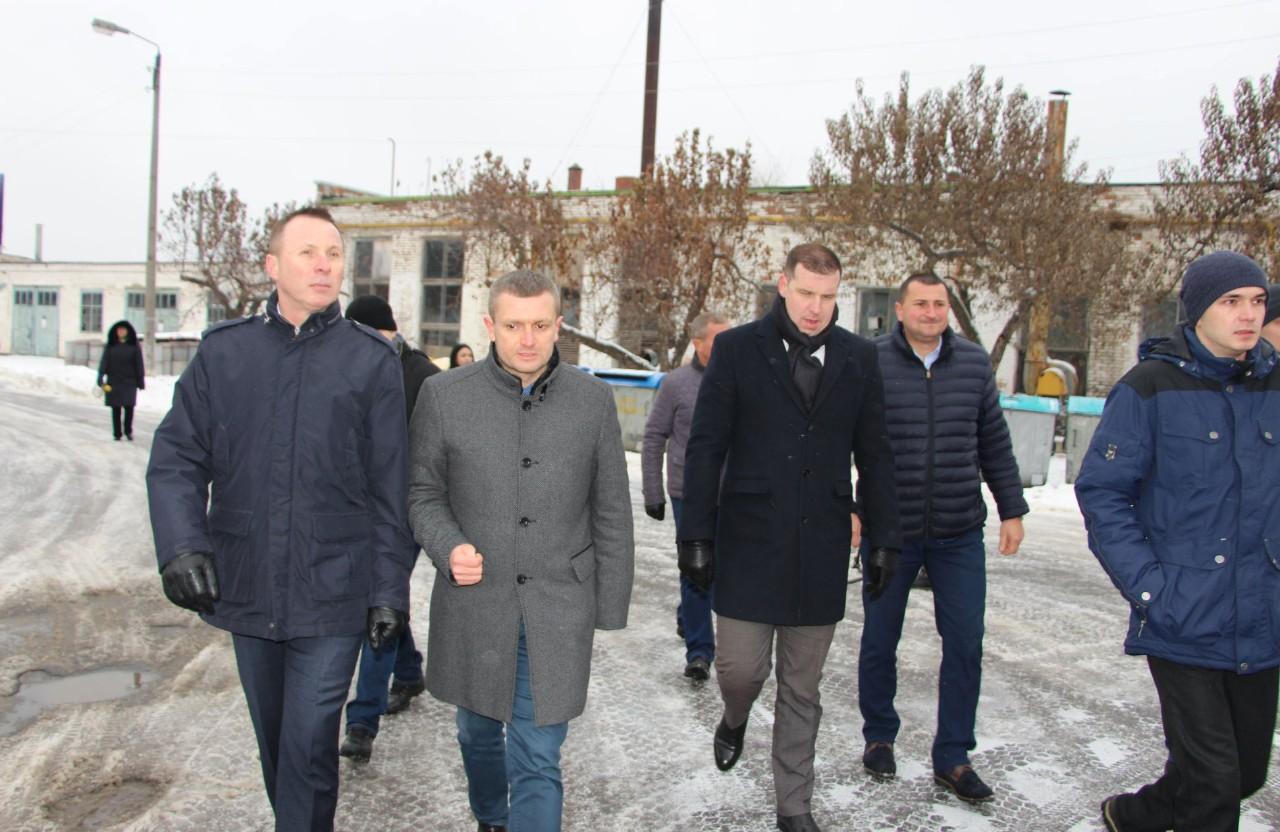 Андрій Матковський, Олексій Чепурко, Олександр Шамота, Тарас Бойко та Дмитро Сенчакович