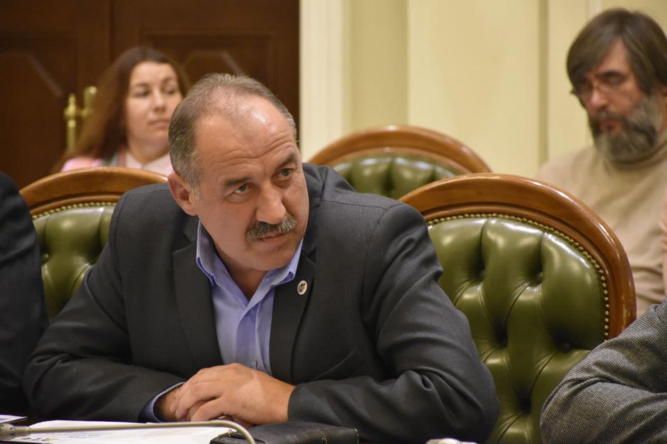 Голова Мачухівської ОТГ Валерій Білокінь