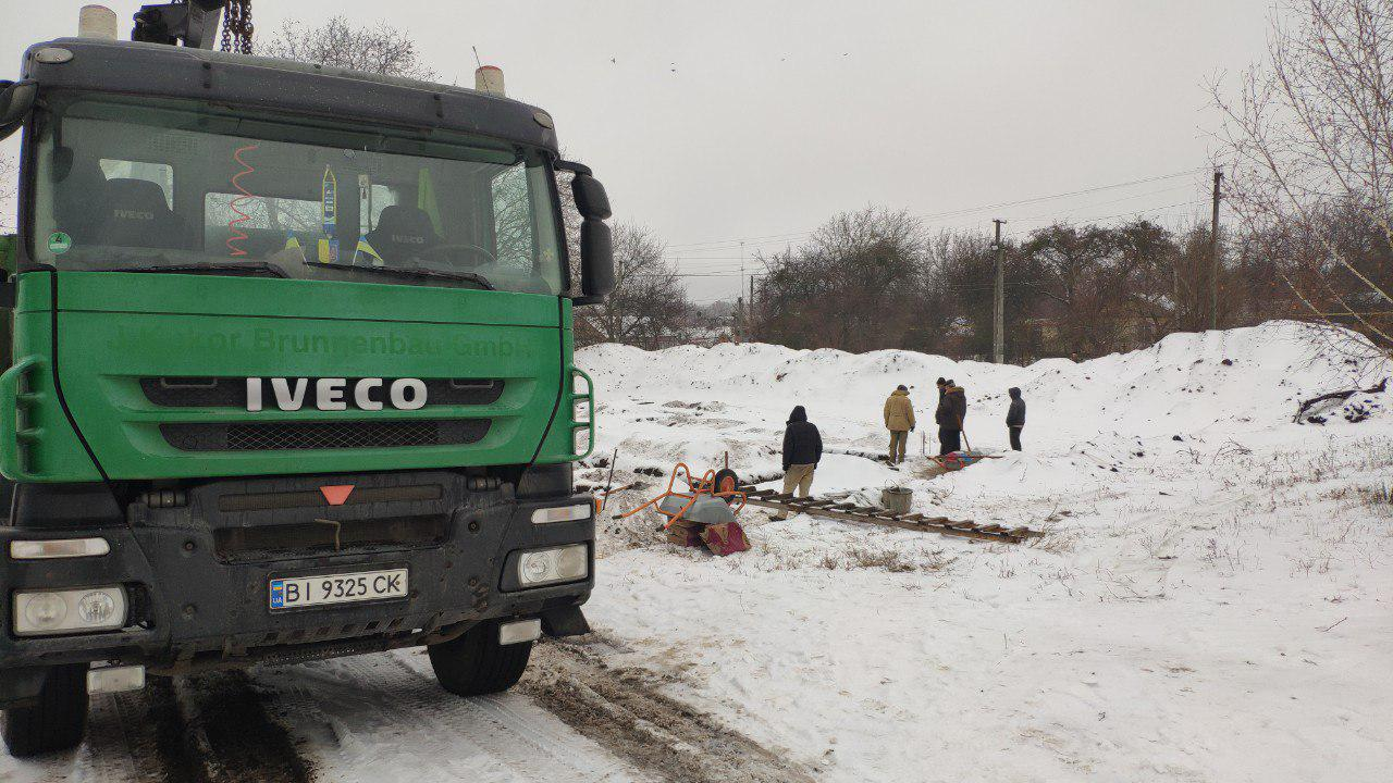 Фундаментні роботи по будівництву амбулаторії в Скороходівській ОТГ
