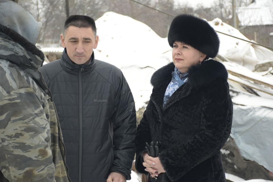 Руслан Заголовацький та Людмила Овчаренко