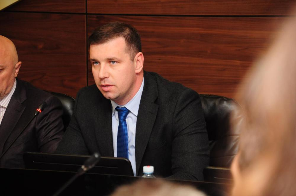 Секретар Полтавської міської ради Олександр Шамота