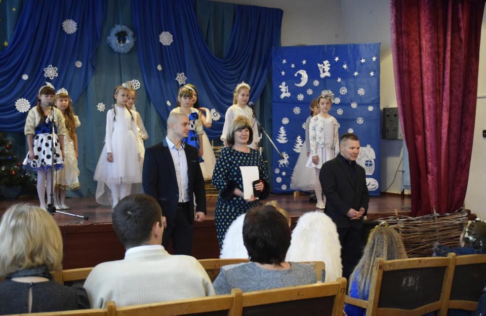 Урочиста промова гостей свята