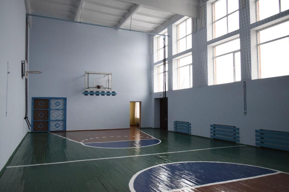 Оновлений спортивний зал