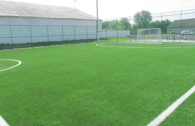 Сучасне міні-футбольне поле в Плоскому