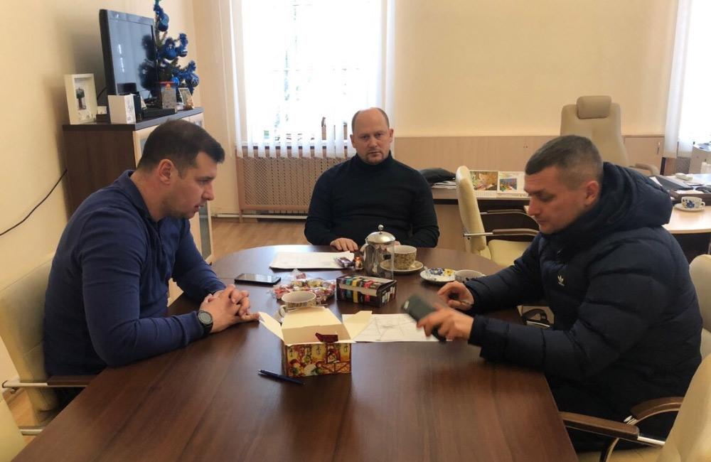 Олександр Шамота, Сергій Каплін та Олексій Чепурко