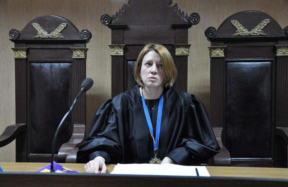 Суддя Алла Троцька