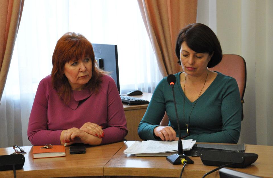 Наталія Бондаренко та Людмила Ванькова