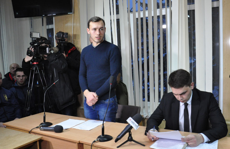 Cлідчий Віталій Скрильник та прокурор Ігор Зінченко