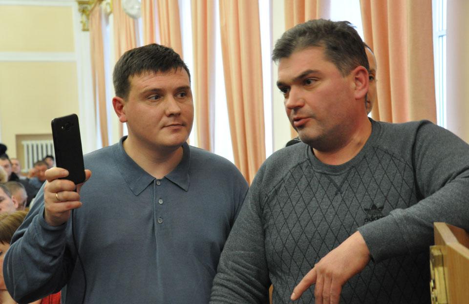 Ігор Головатий та Михайло Костов