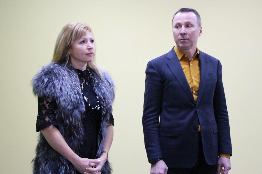 Людмила Бойченко та Андрій Матковський