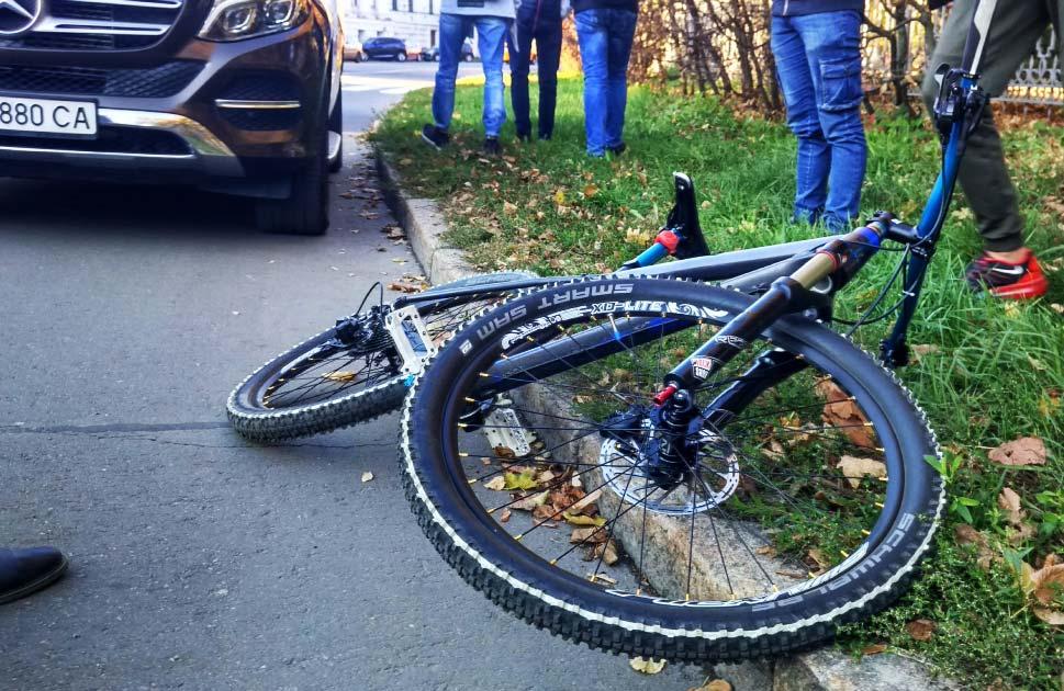 Велосипед Артема Левченка після ДТП